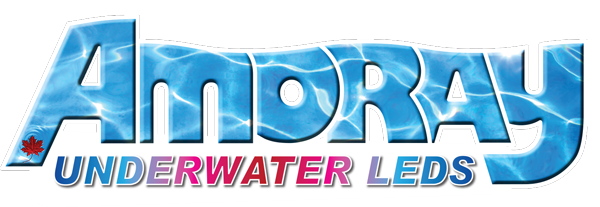 AMORAY UNDERWATER LED LIGHT LOGO