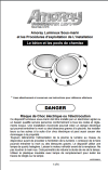 Installation Manual in French for Amoray Underwater LED Light