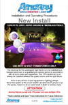 Installation Manual in English for Amoray Underwater LED Light