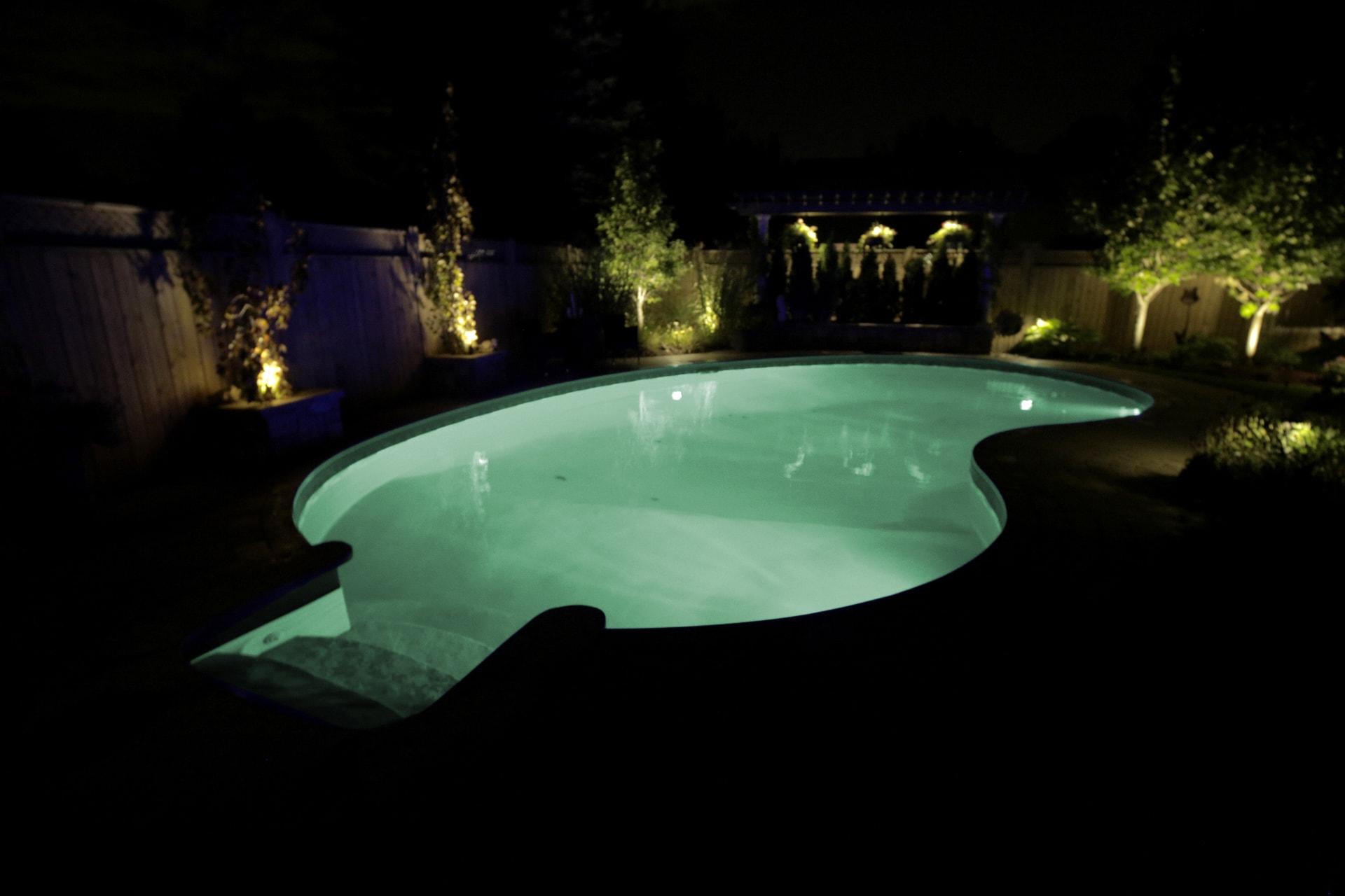underwater inground pool lights amoray 12v underwater leds. Black Bedroom Furniture Sets. Home Design Ideas
