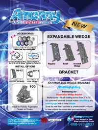 AMORAY EXPANDABLE WEDGE BRACKET