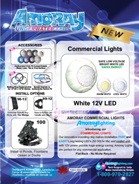 Amoray Nicheless 12v Commercial White LED Light