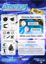 Amoray Nicheless 12v Spa Light