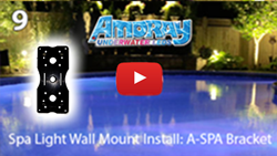 Wall Mount Install 'A-SPA' Bracket