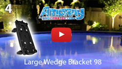 Amoray Retrofit Large Expandable Wedge Bracket (98)