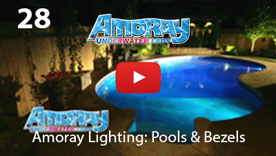 AMORAY POOL LED LIGHT