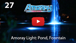 AMORAY LED POOL LIGHT